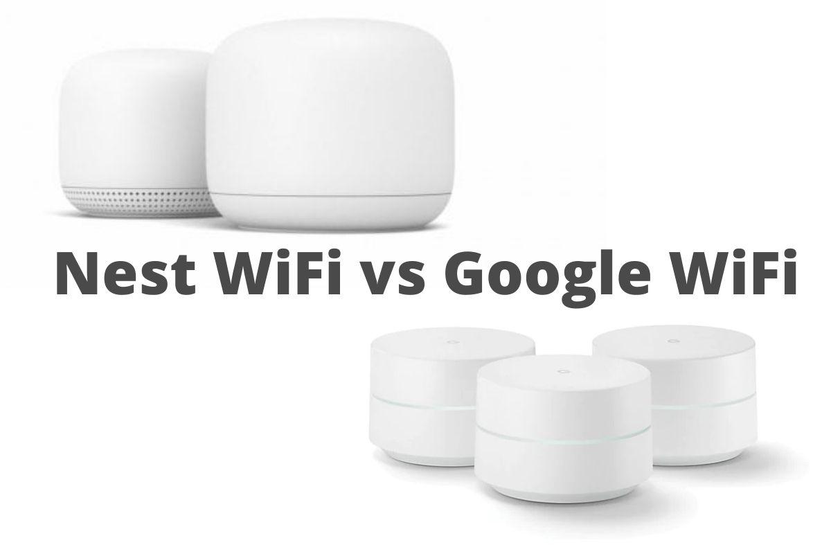 Nest WiFi vs Google WiFi i due router a confronto