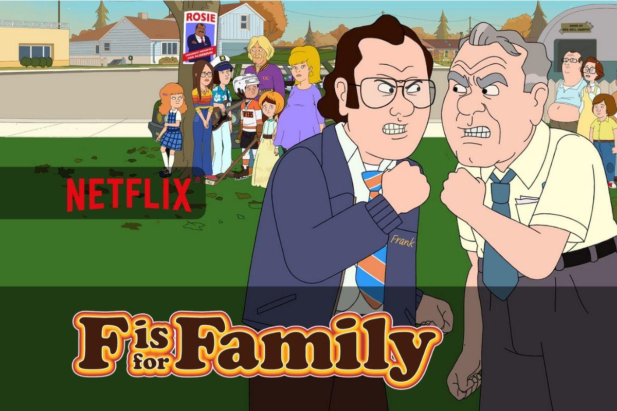 Pronti per i nuovi episodi della stagione 4 di F is for Family su Netflix