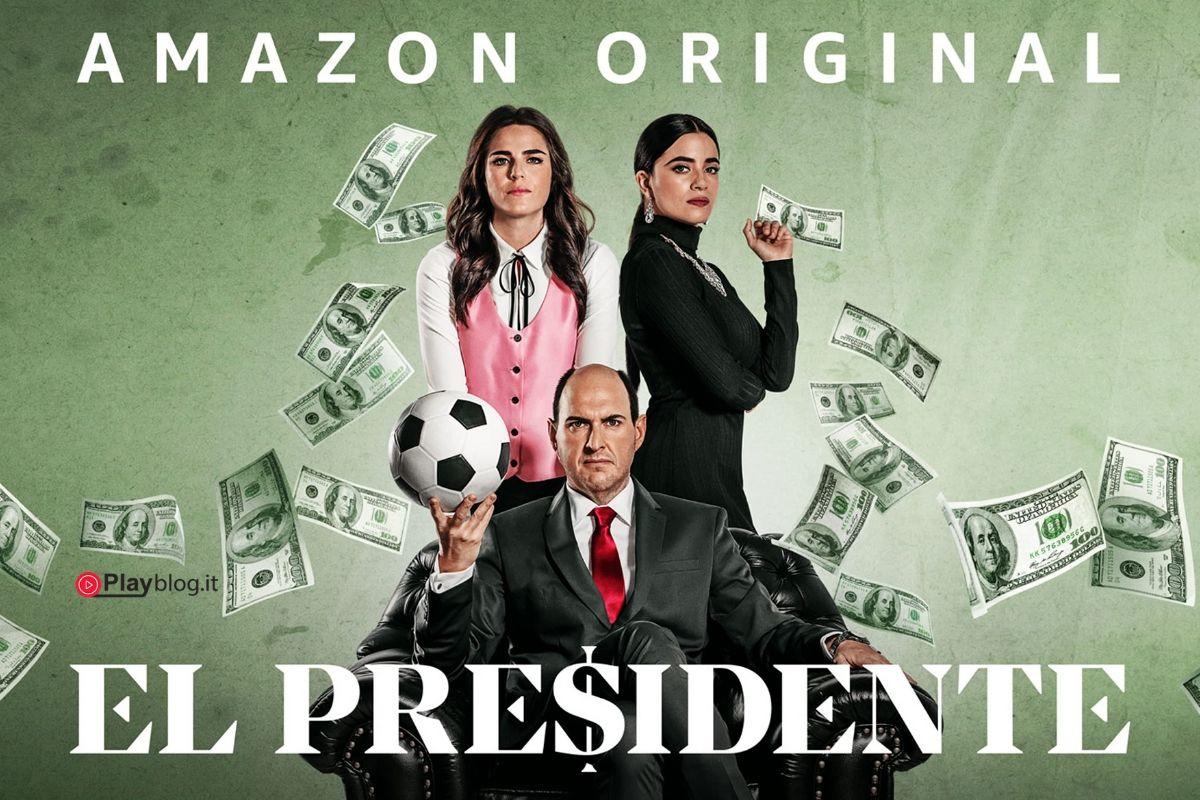 copertina el presidente la prima stagione su amazon prime video