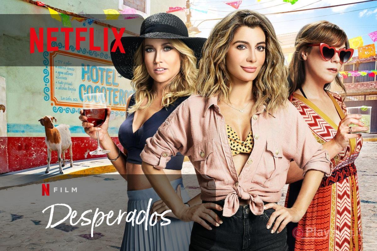 Disponibile da oggi Desperados una nuova commedia Netflix FILM
