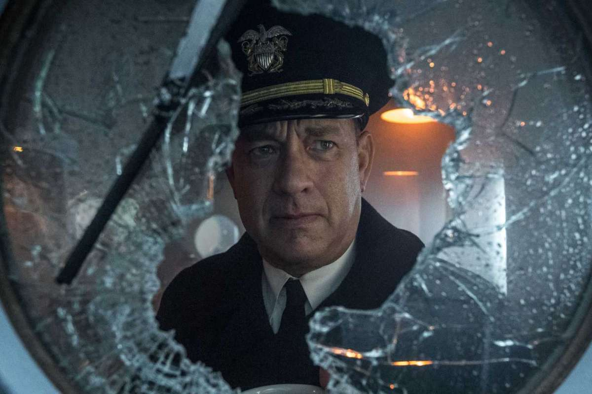copertina La vera storia del film Greyhound di Tom Hanks apple tv plus