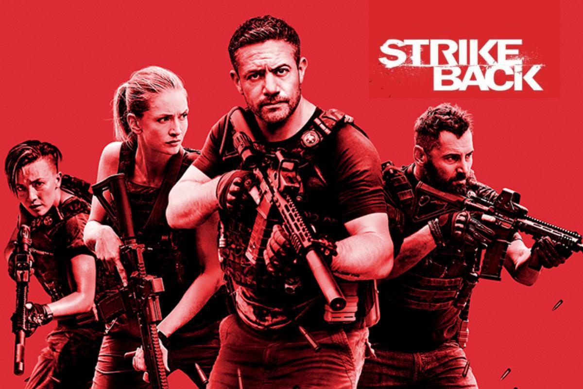 Strike Back continua la guerra al terrorismo nella nuova stagione in prima visione su Rai4