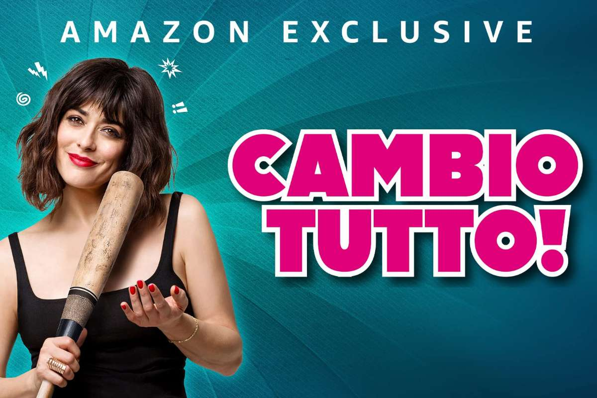 copertina cambio tutto film amazon exclusive prime video
