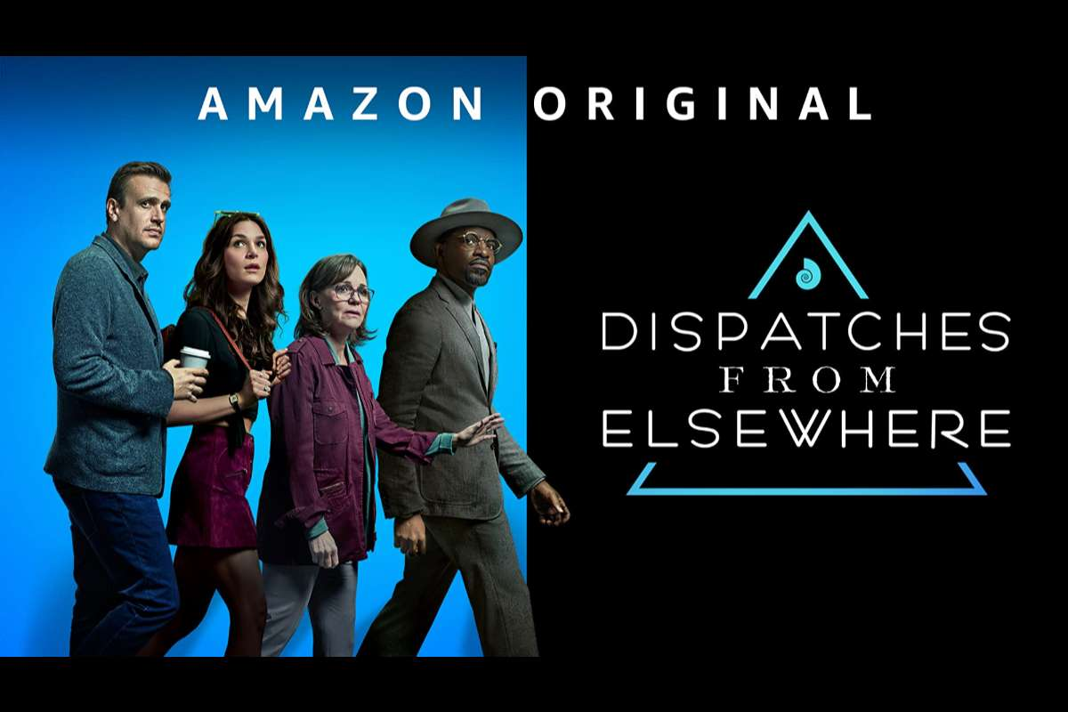 messaggi from elsewhere dispatches from elsewhere amazon prime video copertina