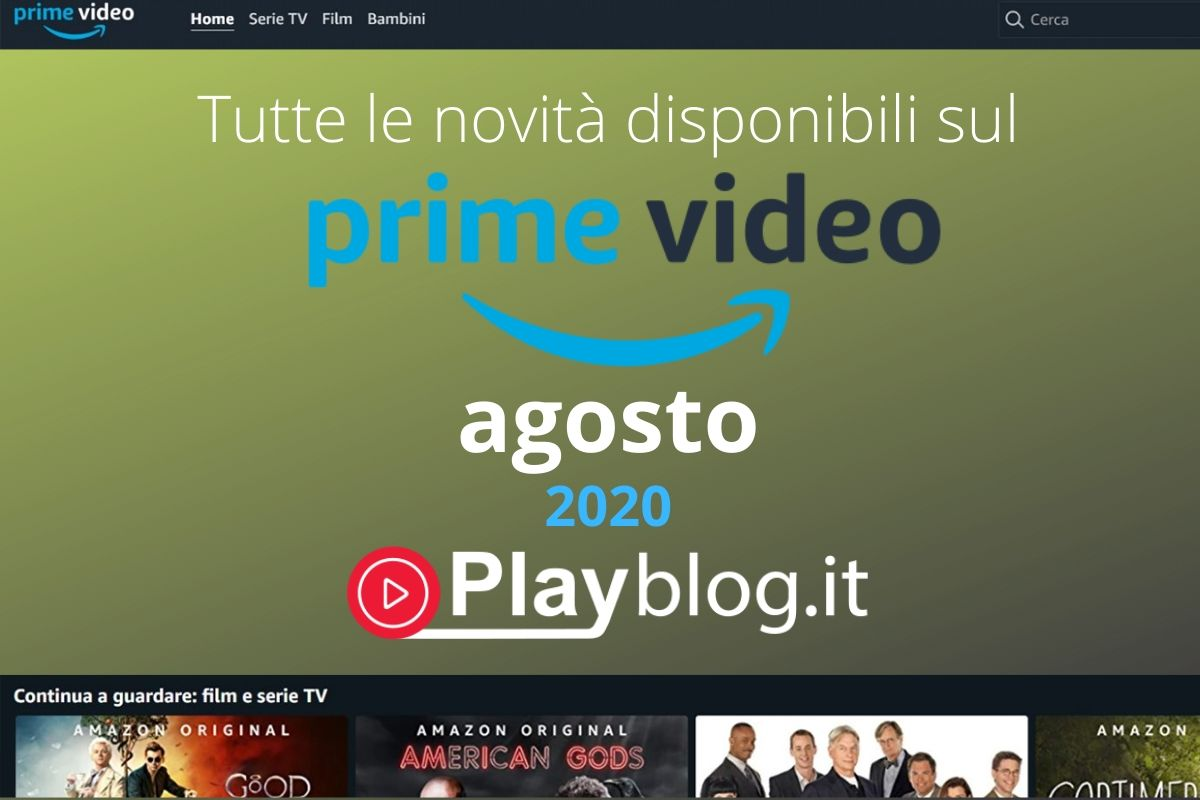 copertina amazon prime video agosto 2020 streaming