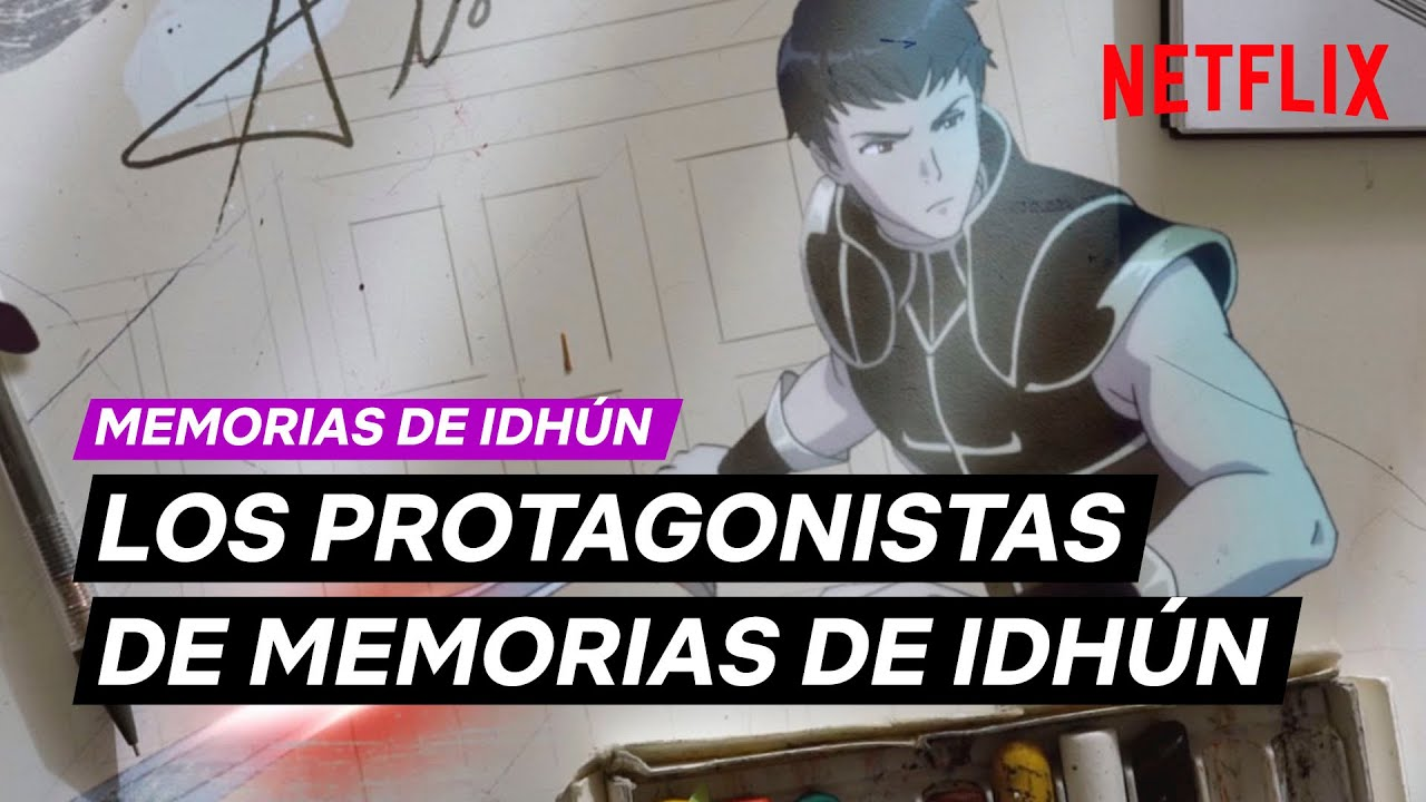 Netflix svela le prime immagine dei personaggi di Memorie di Idhun | Video