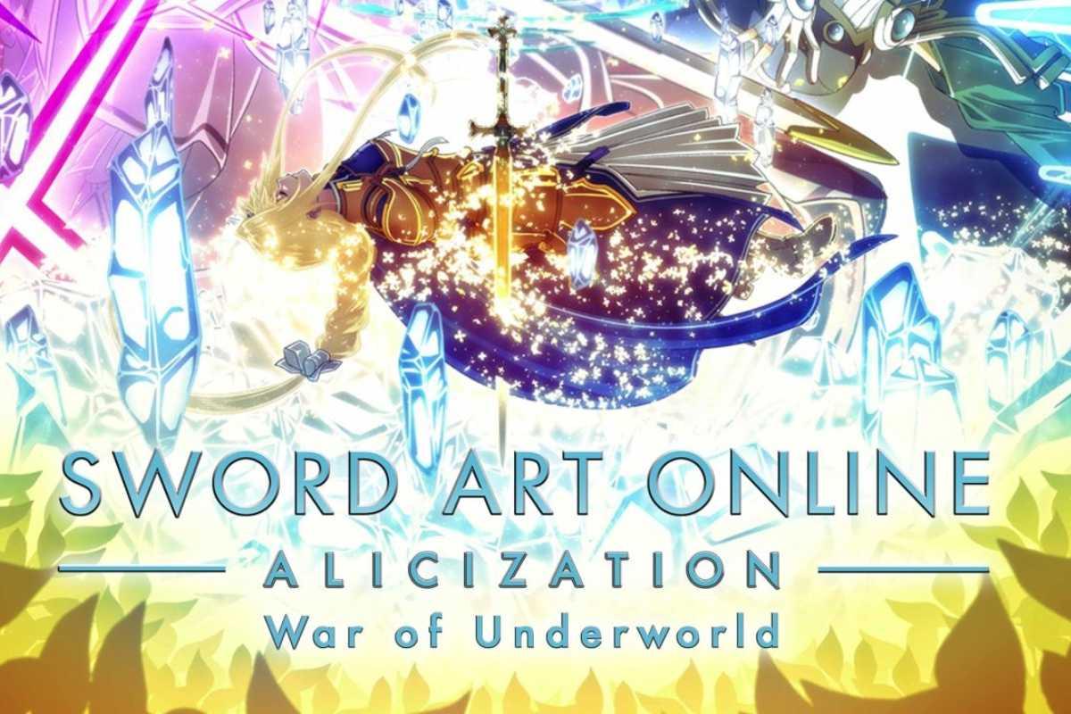 sword art online alicization war of underworld italiano