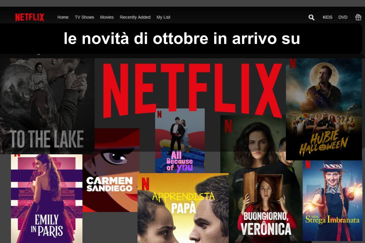 La lista completa con tutte le uscite di Ottobre su Netflix