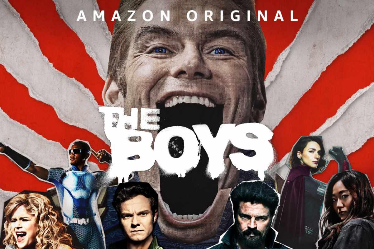 The boys stagione 2 streaming amazon original prime video