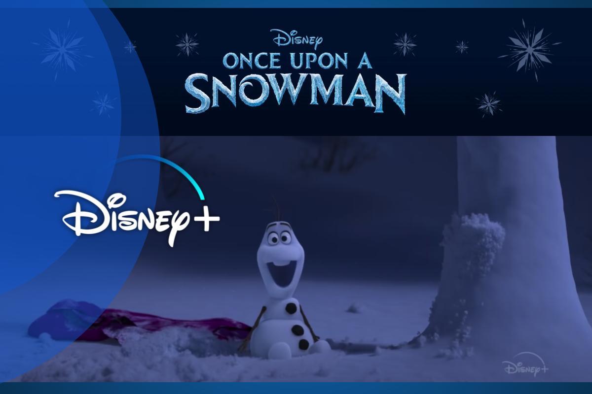"""""""Once Upon A Snowman"""": le origini inedite di Olaf in esclusiva su Disney+"""