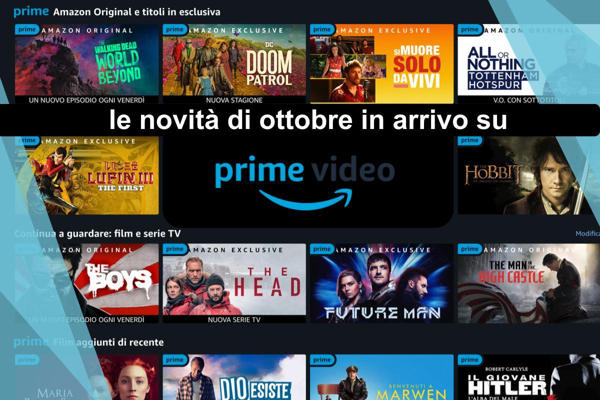 Novità in streaming di ottobre 2020 su Amazon Prime Video