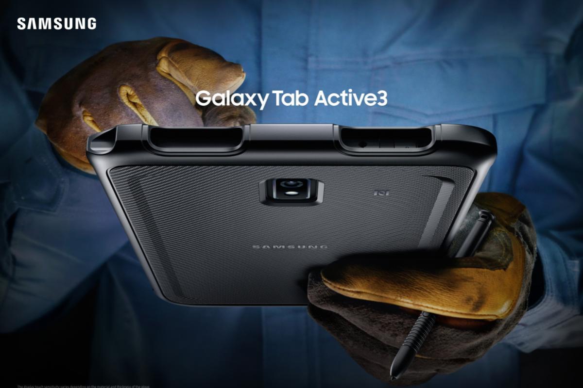 Samsung annuncia Galaxy Tab Active3 il nuovo tablet Ultra Resistente