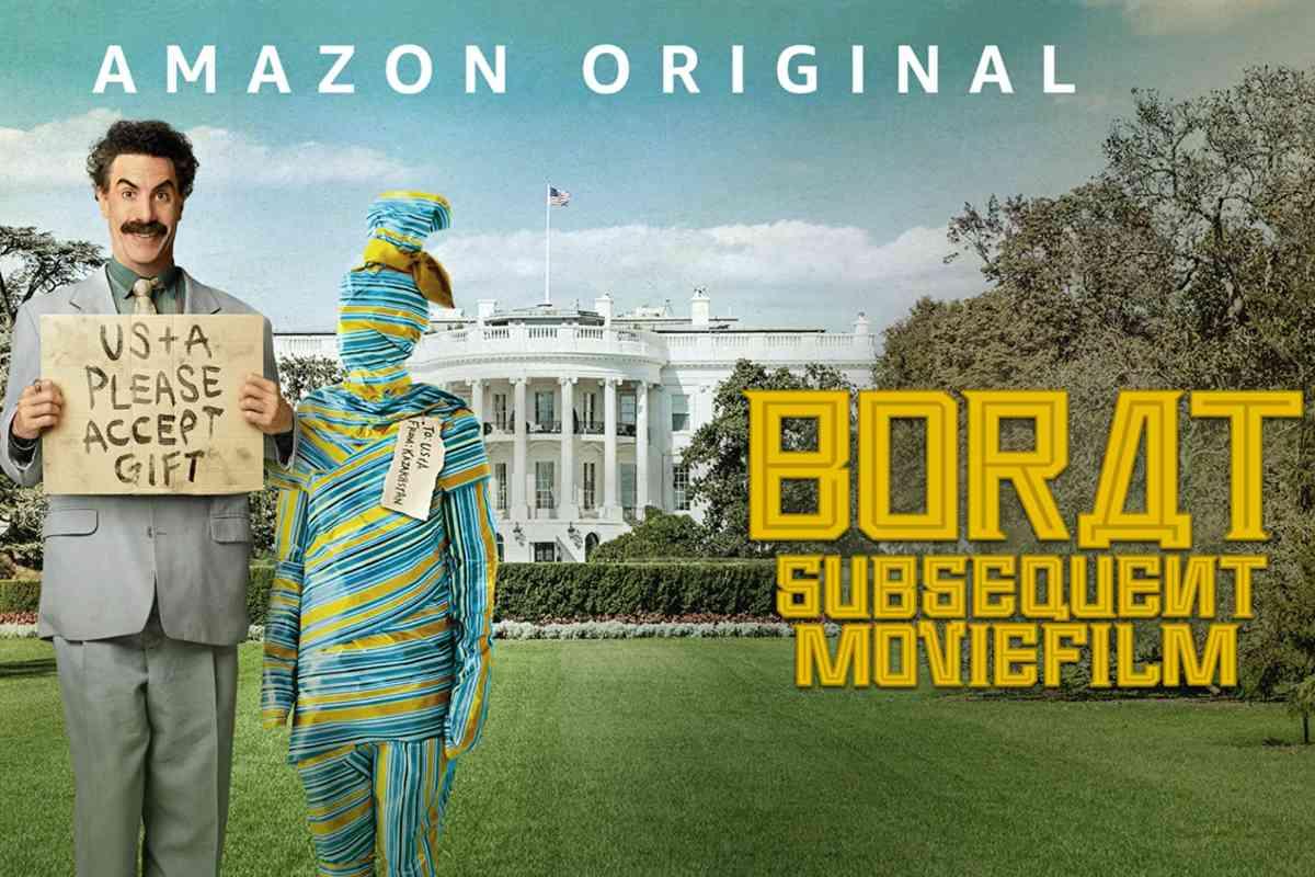 borat seguito di film cinema in streaming su amazon prime video