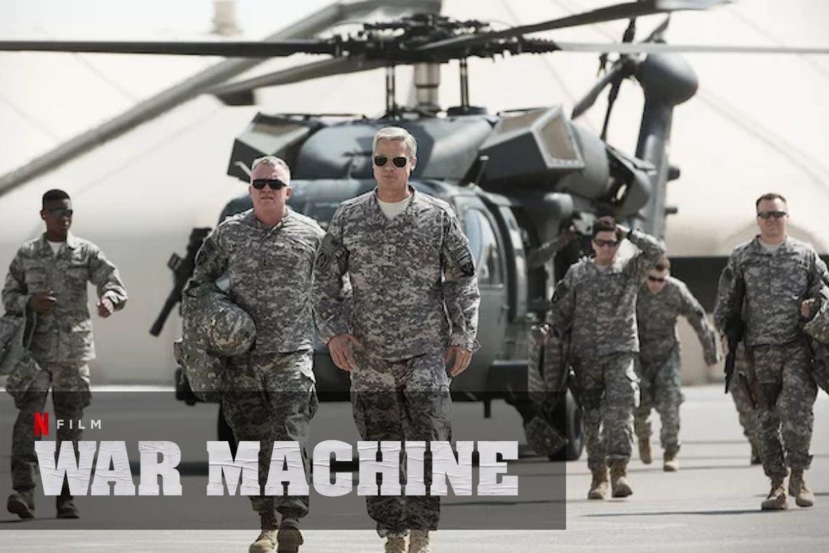 film war machine netflix