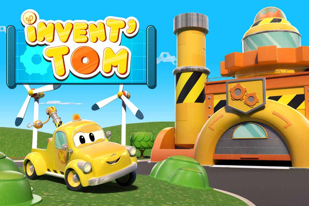 invent'tom serie cartoon kids amazon prime video
