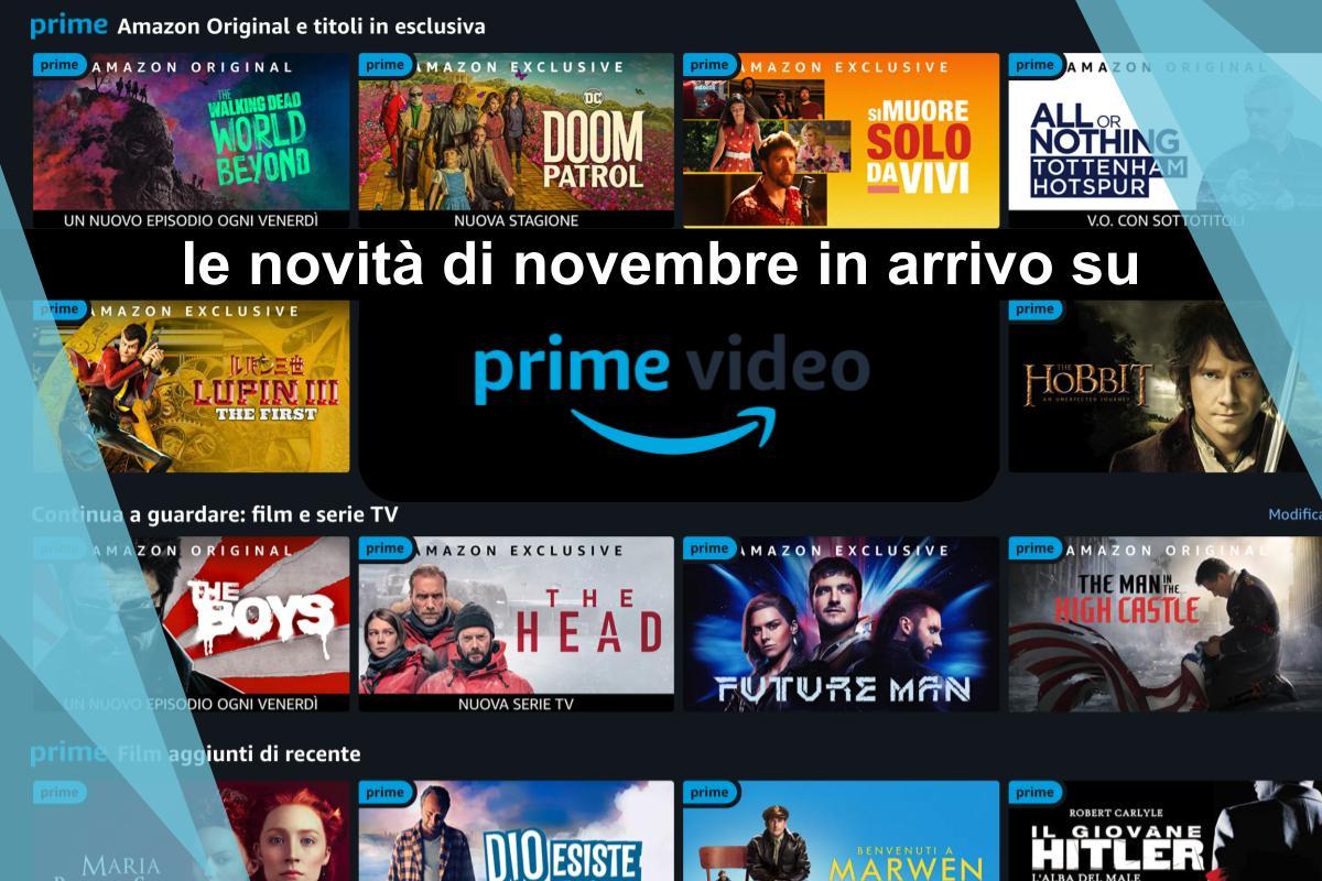 novità in streaming di novembre 2020 amazon prime video