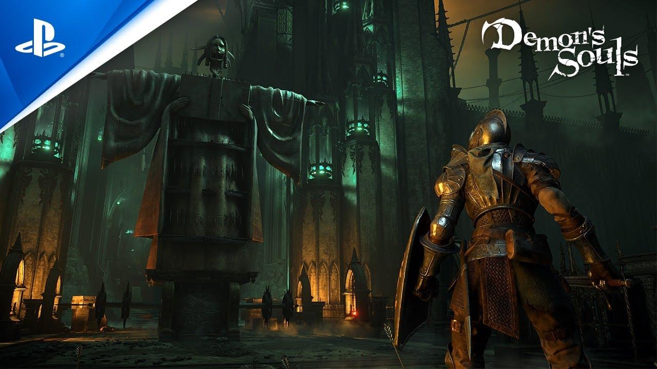 Demon's Souls Trailer di lancio remake next-gen ora anche per PS5