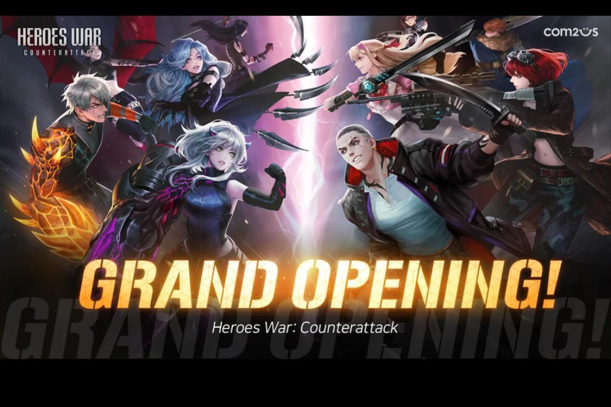 Disponibile il GDR Heroes War: Counterattack per iOS e Android