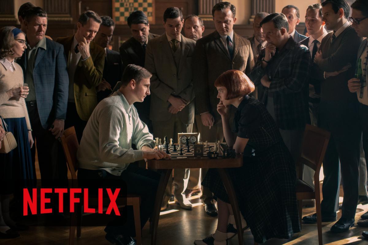 La regina degli scacchi Netflix numeri da record per la serie