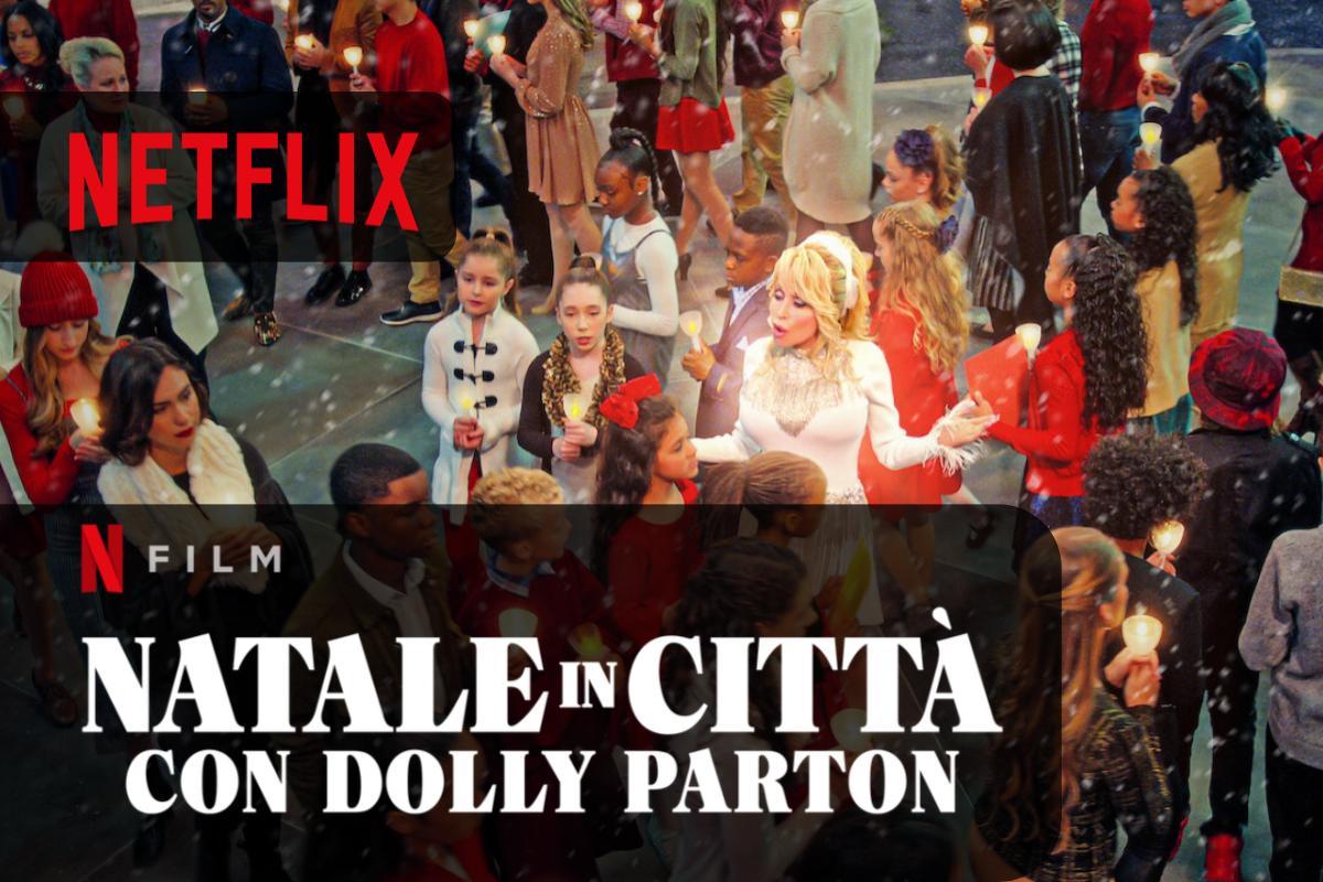 Natale in città con Dolly Parton disponibile un nuovo musical su Netflix