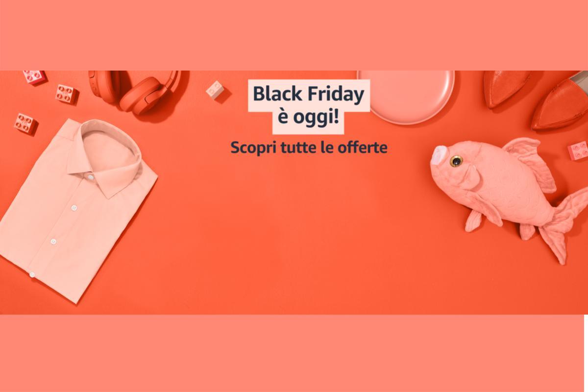 Scopri le migliori offerte del Black Friday di Amazon