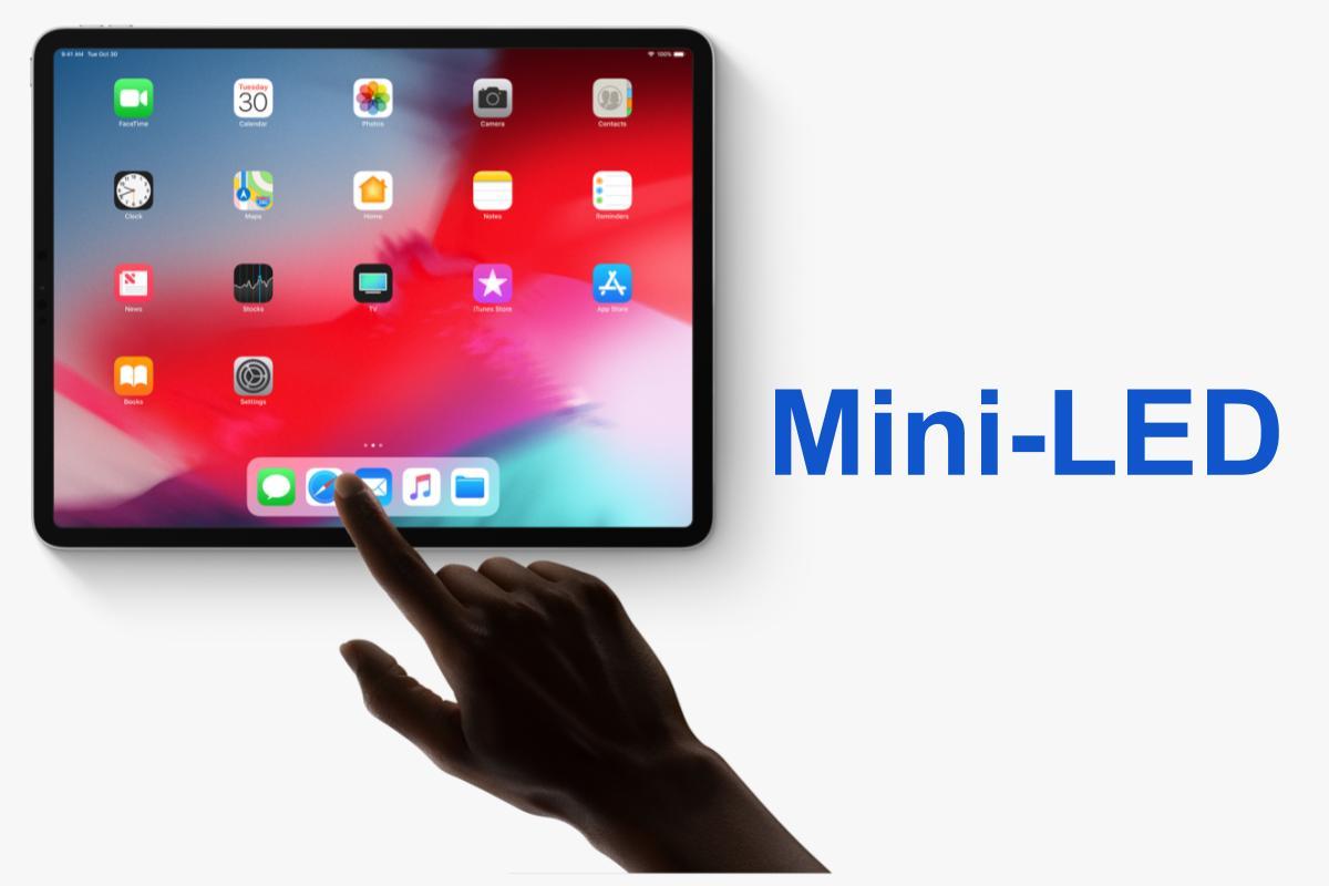iPad Pro con display Mini-LED nel primo trimestre 2021