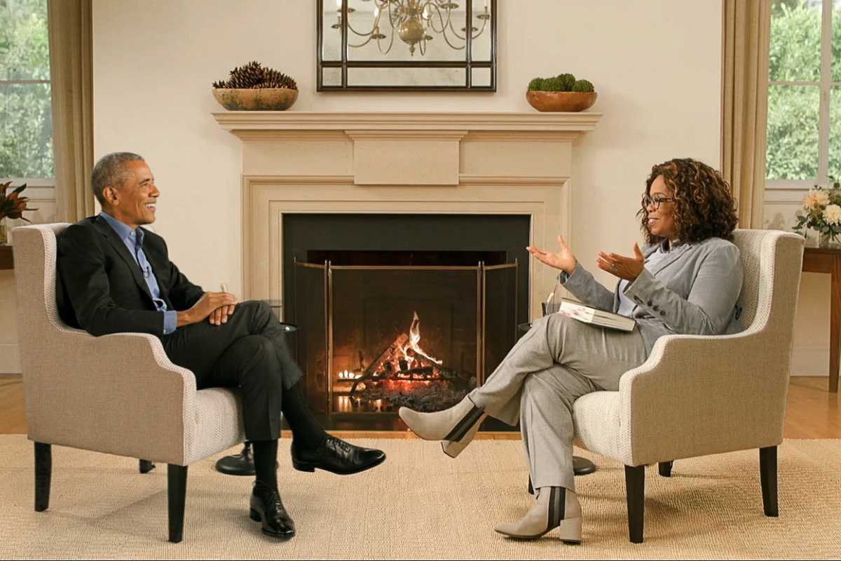 oprah intervista a barack obama apple tv plus