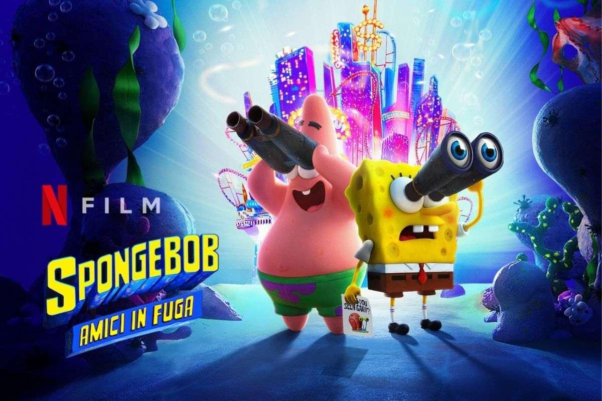 spongebob amici in fuga netflix original film streaming