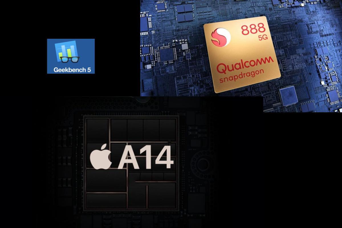 A14 di Apple batte lo Snapdragon 888 nei Geekbench