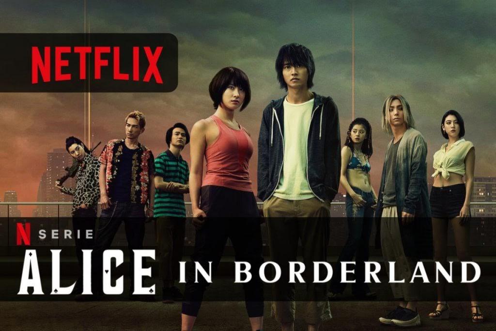 Alice in Borderland disponibile da oggi su Netflix la Serie tratta da manga