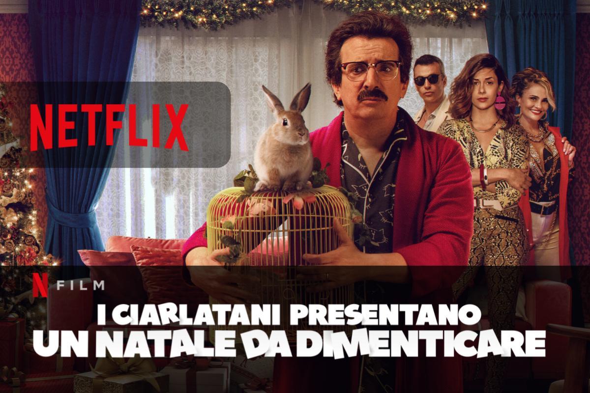 I ciarlatani presentano Un Natale da dimenticare in streaming su Netflix