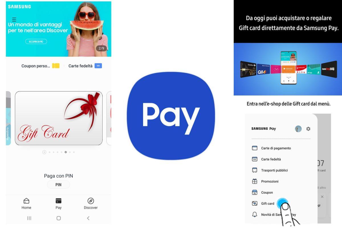 Samsung Pay introduce la funzionalità Gift Card