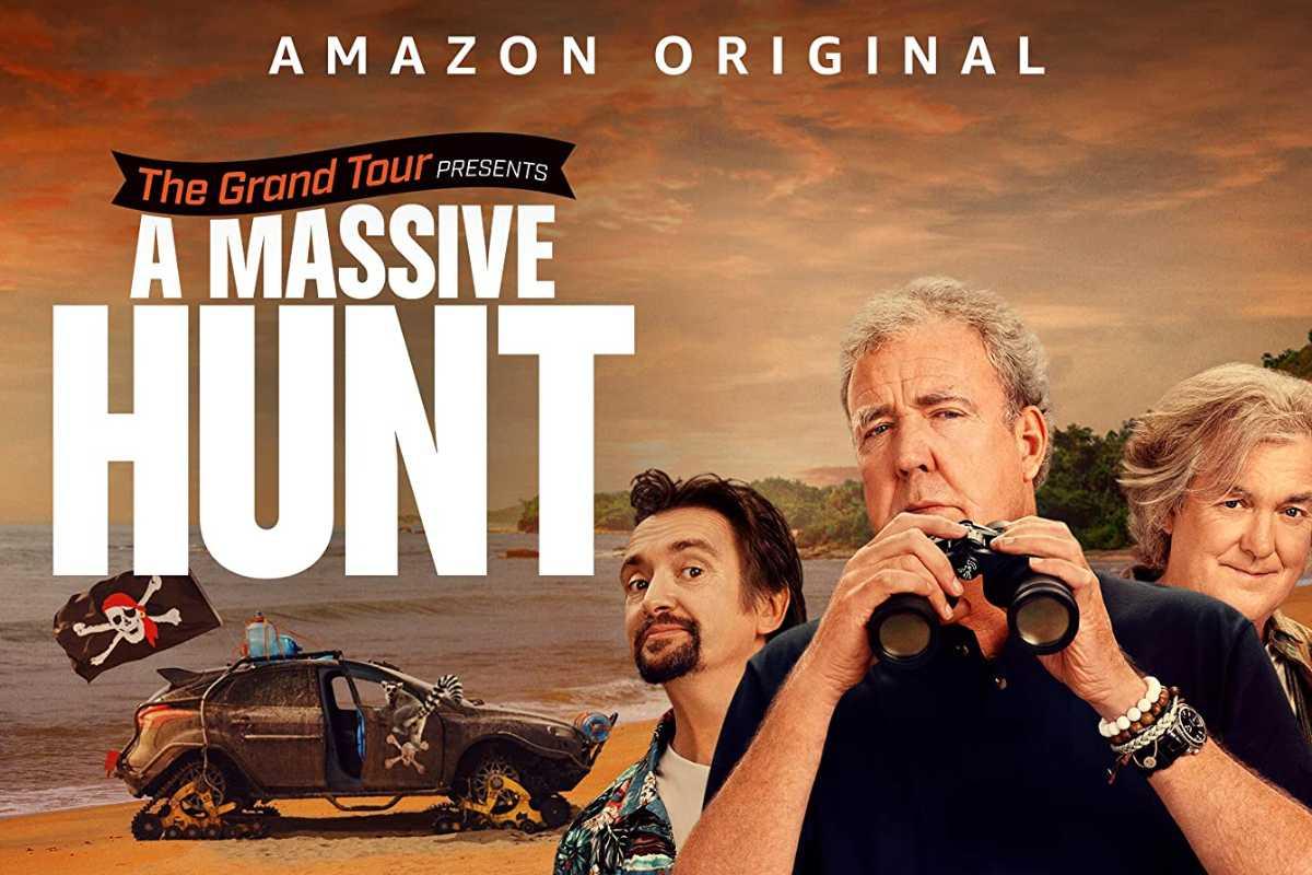 The Grand Tour presents a massive hunt amazon prime video