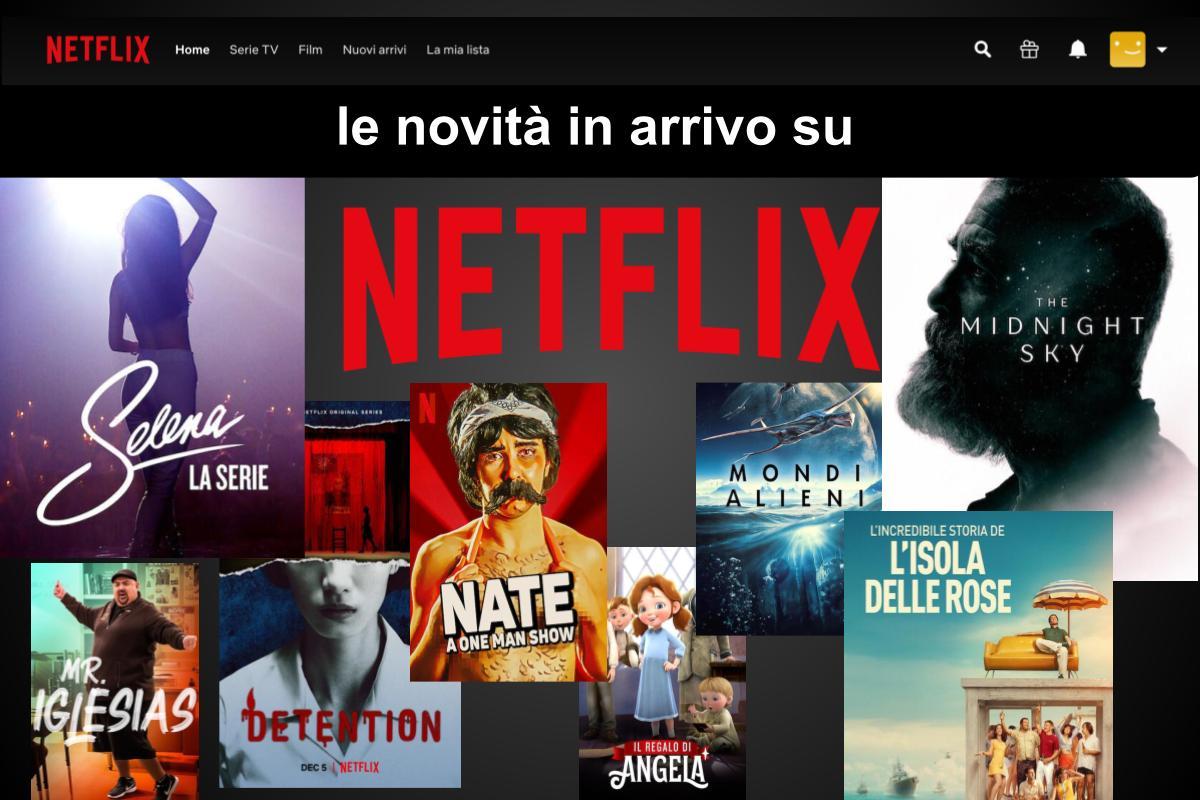 Tutte le uscite di dicembre in streaming su Netflix