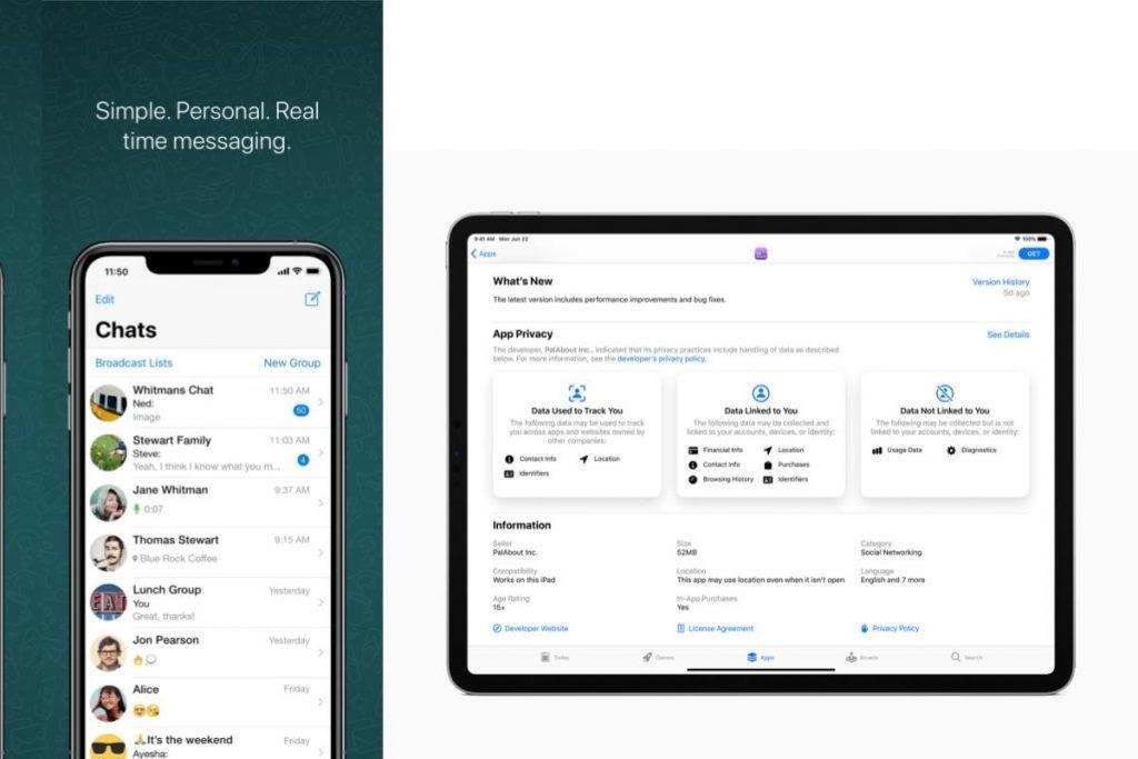 WhatsApp risponde ad Apple per le ingiuste etichette sulla privacy di App Store