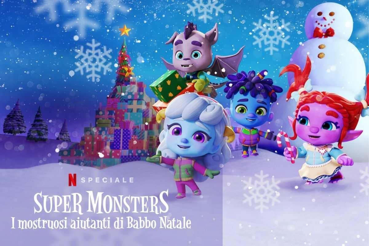 super monsters i mostruosi aiutanti di babbo natale netflix