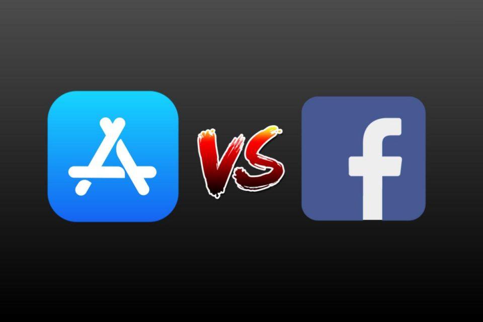 Facebook vuole citare in giudizio Apple sulle pratiche in App Store