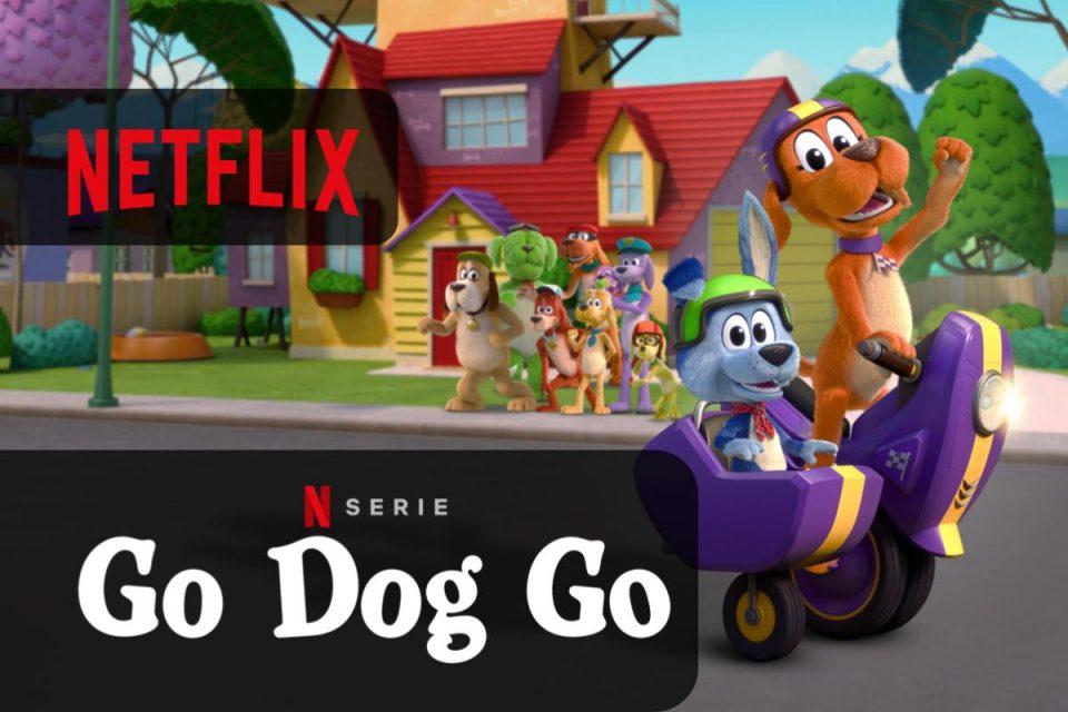 Go Dog Go arriva su Netflix una serie animata targata DreamWorks