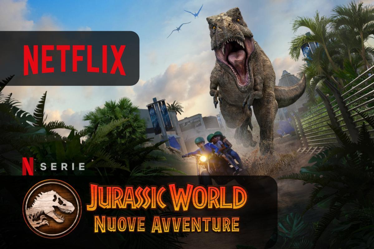 Jurassic World: Nuove avventure arriva su Netflix la stagione 2
