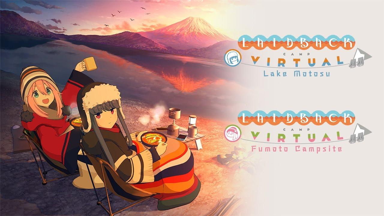 Laid-Back Camp Virtual, il gioco di avventura in uscita a partire da marzo per iOS, Android e su console