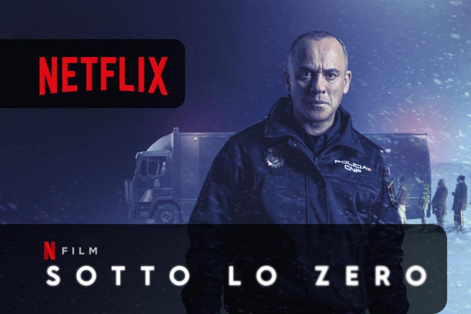 Sotto lo zero un nuovo thriller disponibile su Netflix