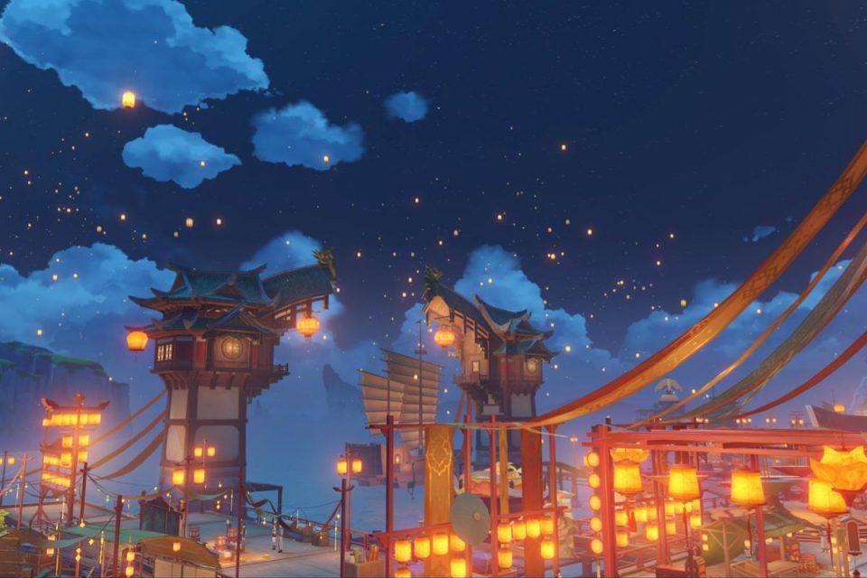 Su Genshin Impact arriva Versione 1.3 con il nuovo anno a Teyvat