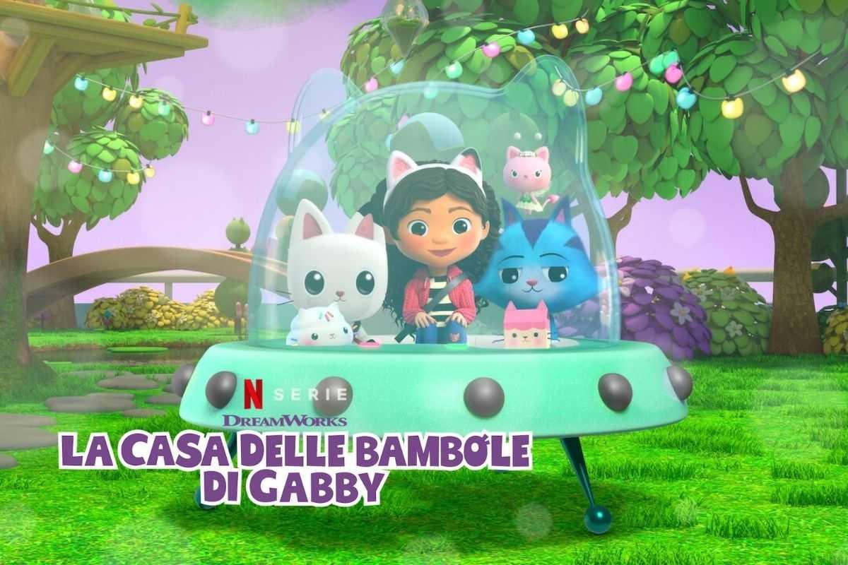 La casa delle bambole di Gabby è una serie Netflix per i bambini, ti potrai unire a Gabby e a una serie di amici felini mentre si fanno strada nella sua fantastica casa delle bambole!