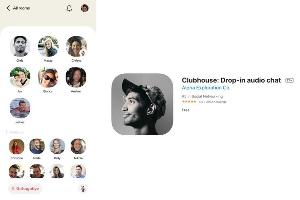 Clubhouse raggiunge 8 milioni di download sull'App Store iOS