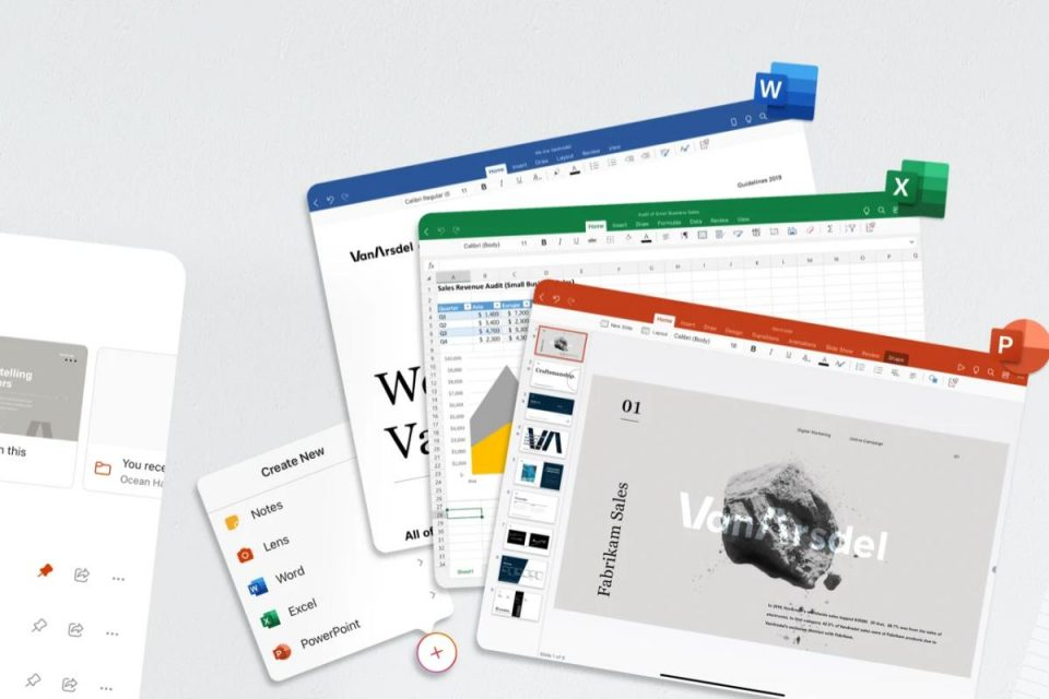 Il nuovo Microsoft Office è finalmente disponibile sull'iPad