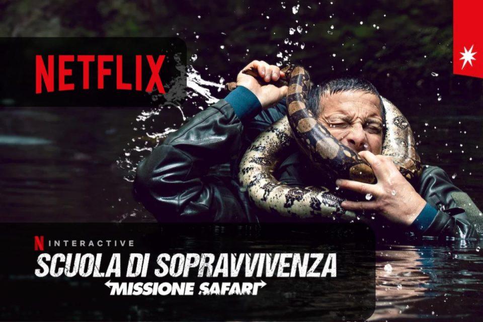 Scuola di sopravvivenza Missione safari arriva oggi su Netflix un nuovo Film interattivo