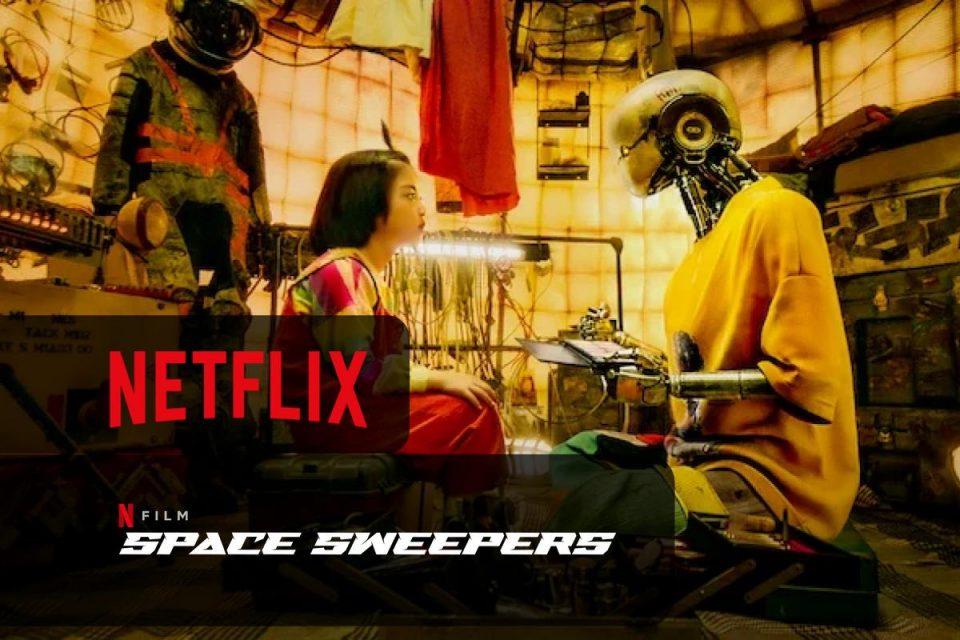 Space Sweepers su Netflix disponibile un nuovo Film di fantascienza