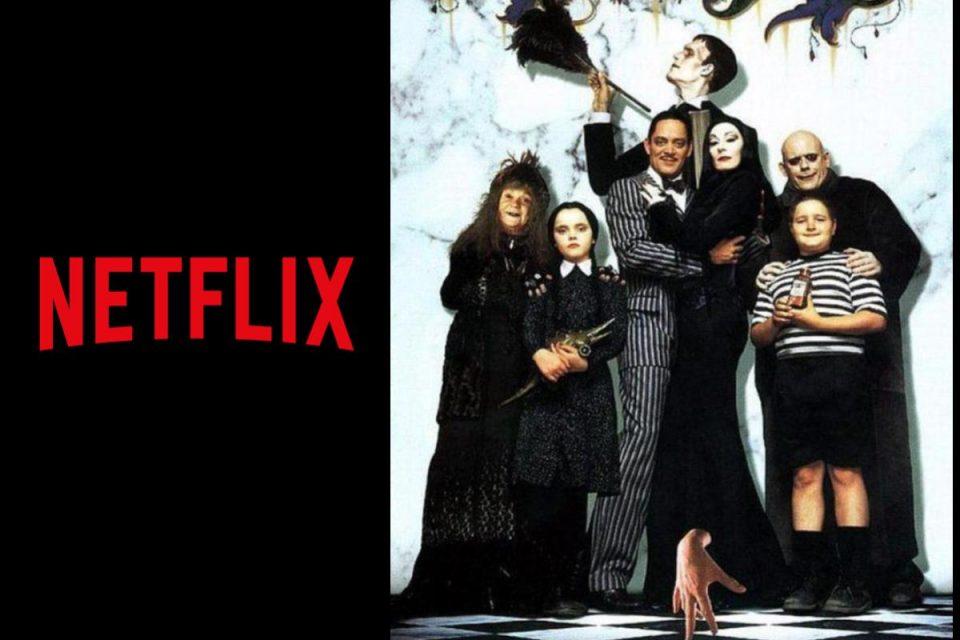 Su Netflix arriverà la serie TV La famiglia Addams di Tim Burton