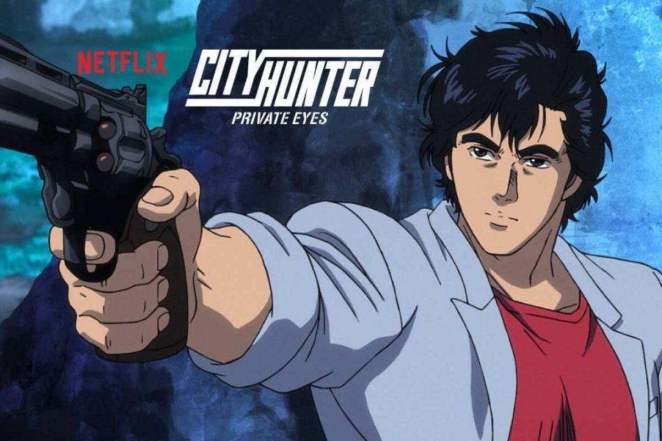 city hunter private eyes film anime netflix