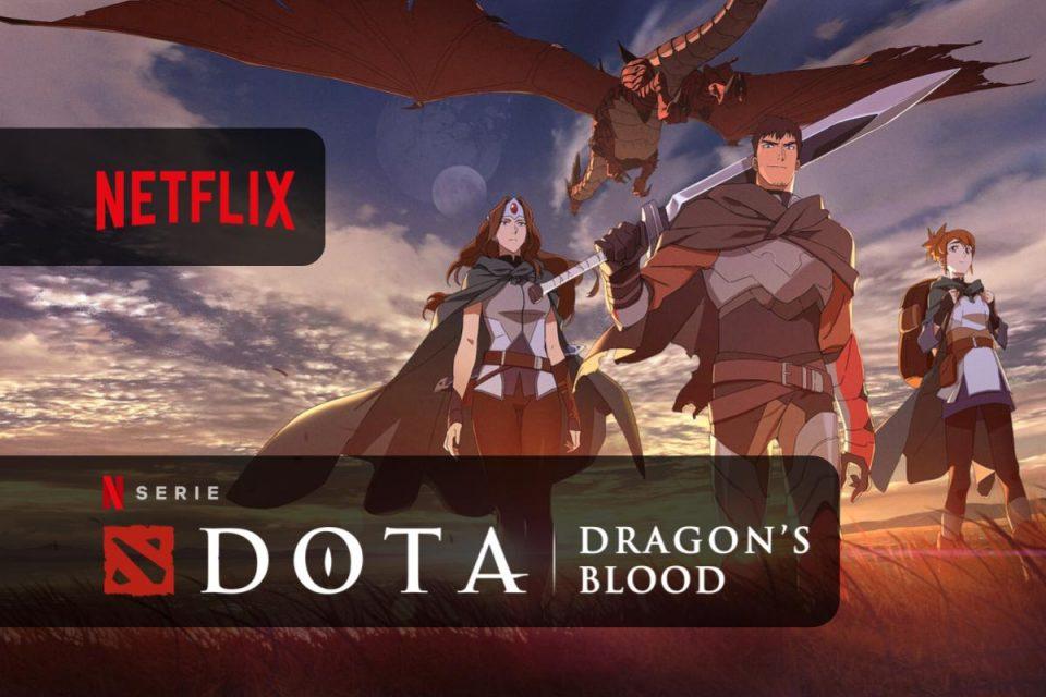 DOTA: Dragon's Blood arriva su Netflix l'Anime tratto dal famoso videogioco di Valve